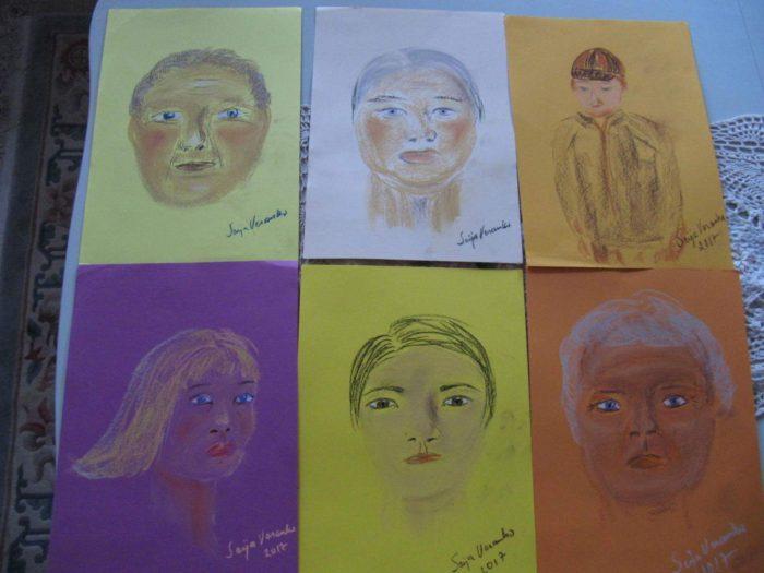 Henkitaidetta 5.4.2017, taiteilijana Seija